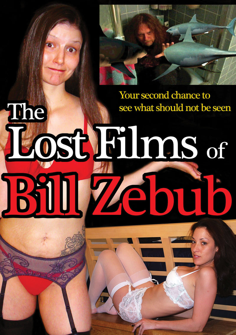 The Lost Films Of Bill Zebub (DVD)
