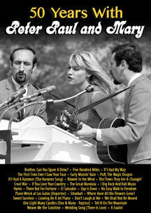 Peter, Paul and Mary - 50 Years with Peter Paul and Mary (DVD)