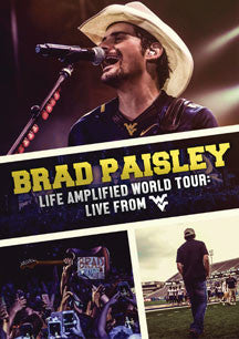 Brad Paisley - Life Amplified World Tour: Live From WVU (DVD)