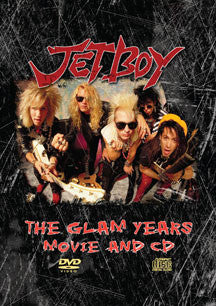 Jetboy - Glam Years Movie and CD (DVD/CD)