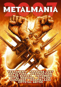 Metalmania 2007 (DVD/CD)