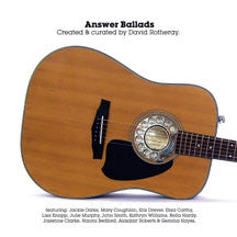 David Rotheray - Answer Ballads (CD)