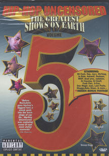 Hip Hop Uncensored 5 - Greatest Show On Earth (DVD)