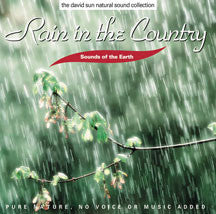 Sounds of the Earth: Rain In the Country (CD)