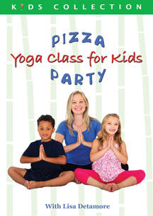 Lisa Detamore - Pizza Party: Yoga Class For Kids (DVD)