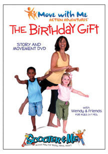 Move With Me Action Adventures: The Birthday Gift (DVD)