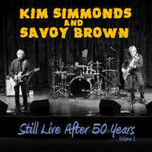 Kim Simmonds & Savoy Brown - Still Live After 50 Years Vol.1 (CD)
