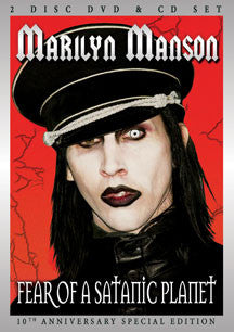 Marilyn Marilyn Manson - Fear Of A Satanic Planet (Special Edition) (DVD/CD)