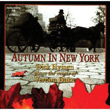 Dick Hyman - Autumn In New York (CD)