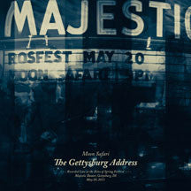 Moon Safari - The Gettysburg Address (CD)