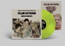 Nino Rota - Fellini Satyricon Original Soundtrack (VINYL ALBUM)