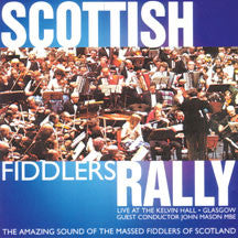 Massed Scottish Fiddles - Scottish Fiddlers Rally (CD)
