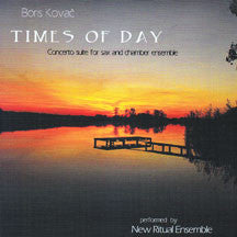 Boris Kovacs - Times Of Day (CD)