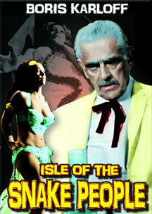 Isle Of The Snake People (DVD)