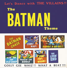 Villans - Let's Dance With The Villains: The Batman Theme (CD)