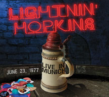 Lightnin' Hopkins - Live In Munich: June 23, 1977 (CD)