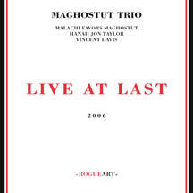 Maghostut Trio - Live At Last (CD)