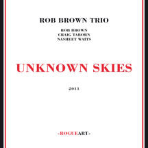 Rob Brown Trio - Unknown Skies (CD)