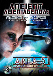 Ancient Alien Agenda: Aliens And Ufos From The Area 51 Archives (DVD)