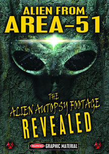 Alien From Area 51: The Alien Autopsy Footage Revealed (DVD)