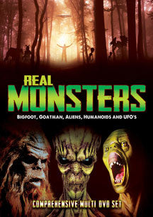 Real Monsters: Bigfoot, Goatman, Aliens, Humanoids And UFOs (DVD)