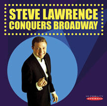 Steve Lawrence - Steve Lawrence Conquers Broadway (CD)