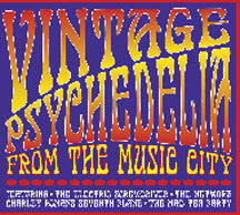 Vintage Psychedelia From The Music City (CD)