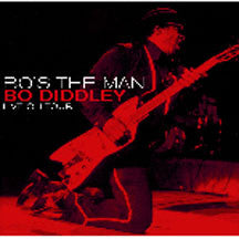 Bo Diddley - Bo's The Man (CD)
