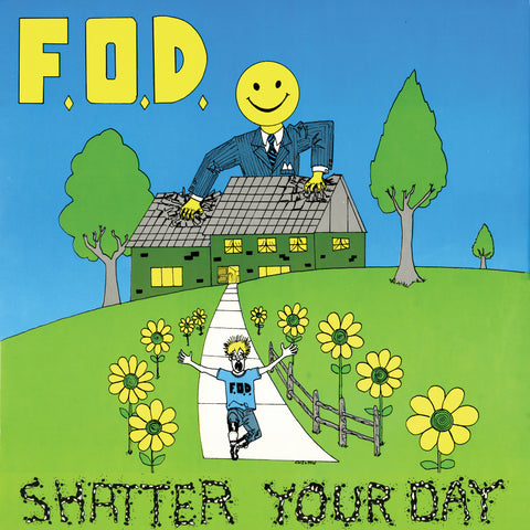 Flag Of Democracy (FOD) - Shatter Your Day (VINYL ALBUM)