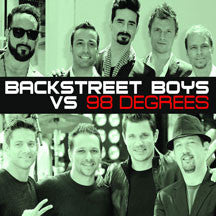 Backstreet Boys/98 Degrees - Backstreet Boys Vs. 98 Degrees (CD)