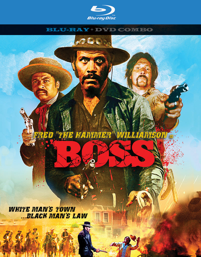 Boss  (BLU-RAY/DVD)