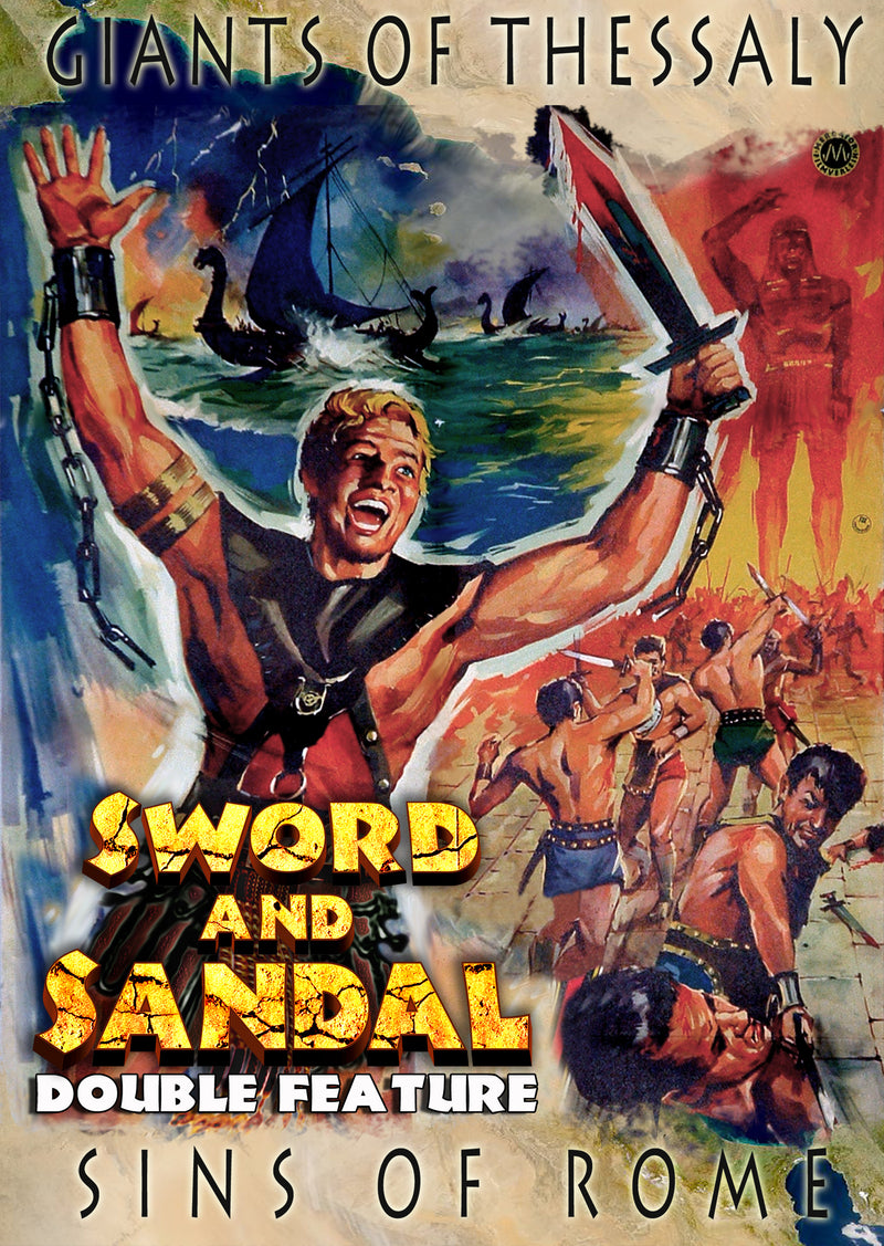 Sword And Sandal Double Feature: Vol 1 (Giants Of Thessaly & Sins Of Rome) (DVD)