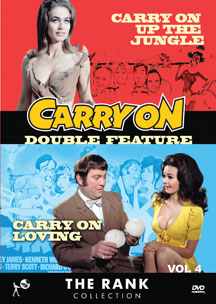 Carry On Double Feature Vol 4 (DVD)