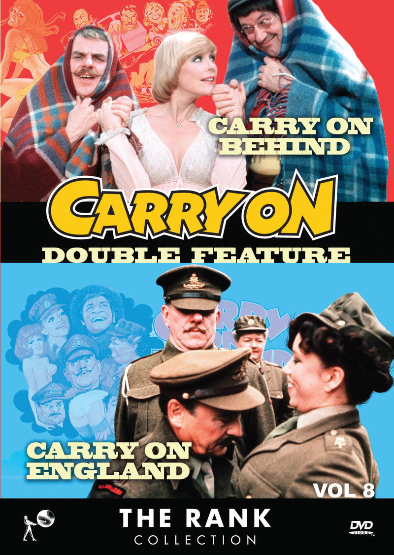 Carry On Double Feature Vol 8 (DVD) 1