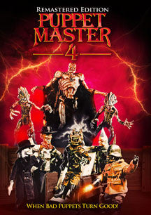 Puppet Master 4 Re-mastered (DVD)