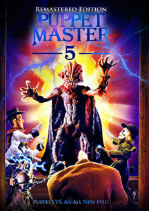Puppet Master 5 Re-mastered (DVD)