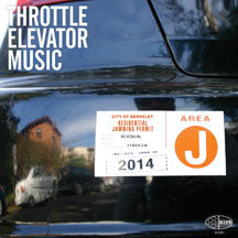 Throttle Elevator Music - Area J (VINYL ALBUM)