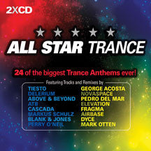 All Star Trance: 24 Of The B (CD)