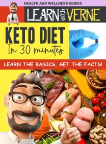 Learn With Verne Keto Diet In 30 Minutes (DVD)