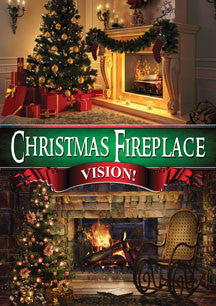Christmas Fireplace Vision (DVD)