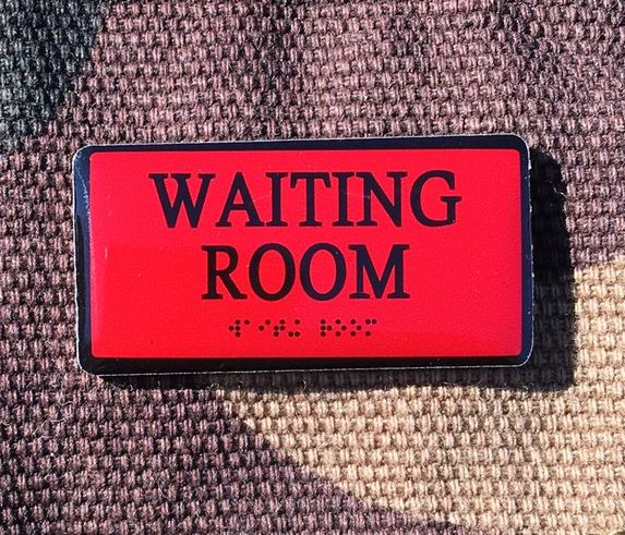 Waiting Room by Bort's Pin Emporium