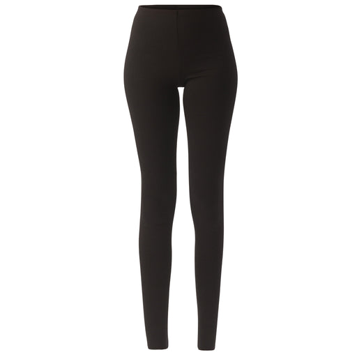 High-Waisted Black Leggings