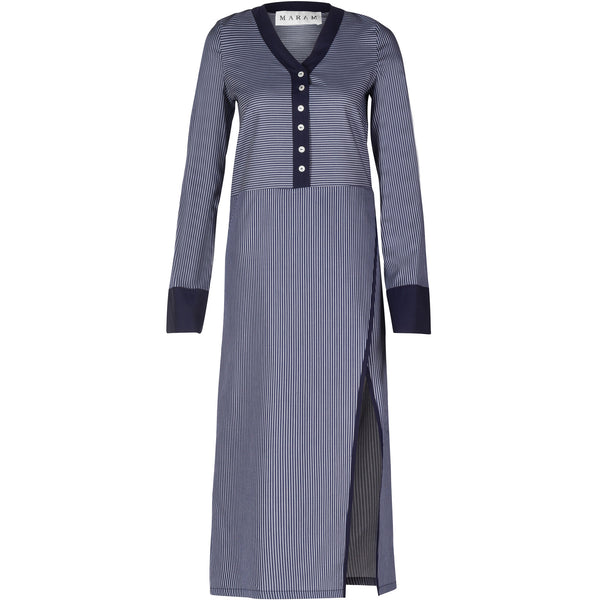 Cotton Wrap Shirt-Dress
