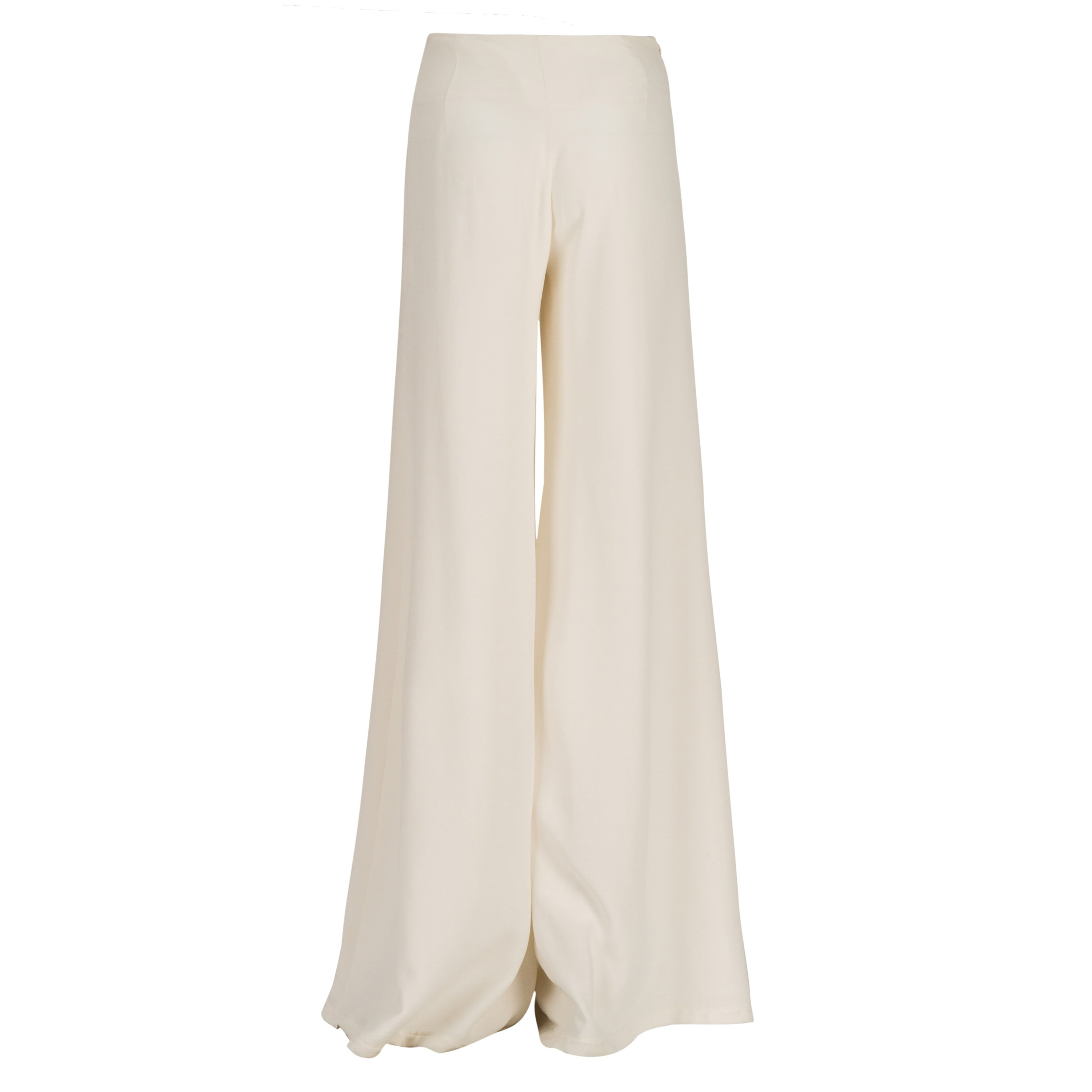 Flared One Slit Pants