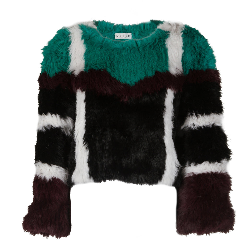 Multi-Color Fur Top