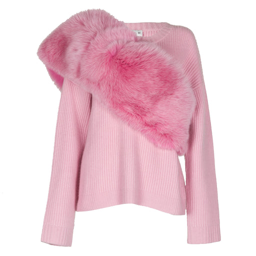 Powder Pink Fur Stole