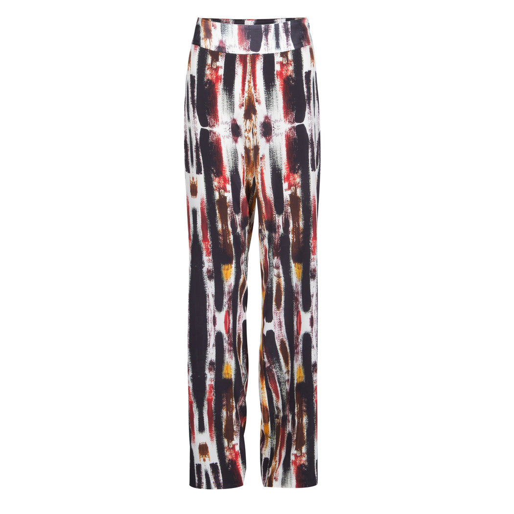 Printed Flared Pants