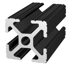 80/20 1010-Black t-slot aluminum extrusion