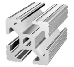 "80/20 1010 24"" long t-slot aluminum extrusion"