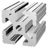"1.5 x 1.5 Aluminum T-Slotted Extrusion Framing 72/"" Long Slot Code 32 1515"
